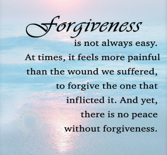 Writing An Article About Forgiveness Is Something I Have Been Aching Since  Year 2005. I Have Read So Many Articles About This Topic To Widen My  Perspective ...