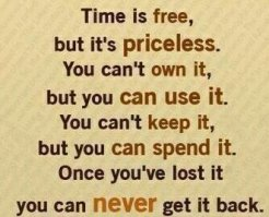 Image result for quote time flying